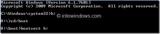 Installing Windows 8 From External Hard Drive Step 5