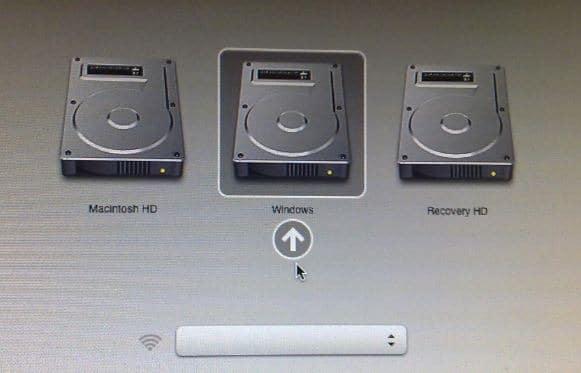 Install Windows 8 on Mac last step