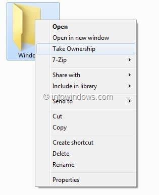 take ownership of files Windows 8.1