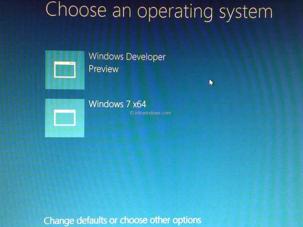 dual boot Windows 8.1 with Windows 7