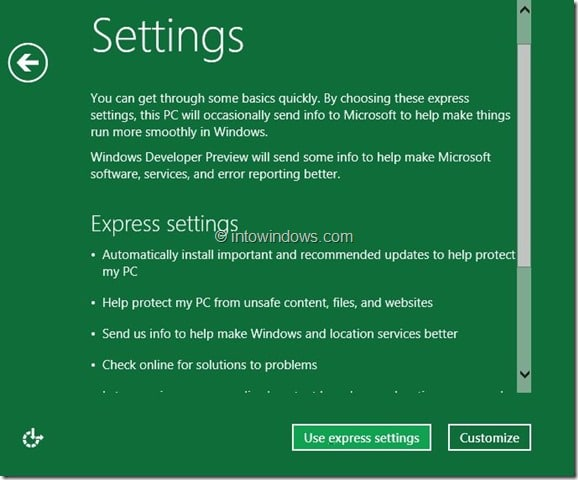 Windows 8 Installation Procedure Step10