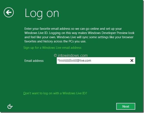Windows 8 Installation Procedure Step11