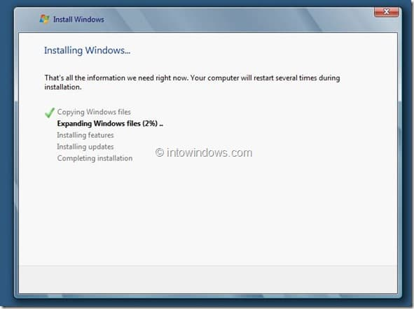 Windows 8 Installation Procedure Step8
