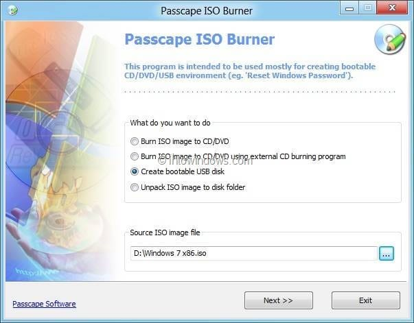Download usb bootable software for windows xp