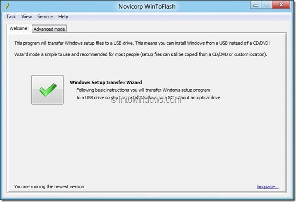 8 Free Tools To Create Windows 8 Bootable USB Picture5