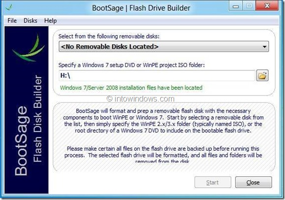 8 Free Tools To Create Windows 8 Bootable USB Picture8