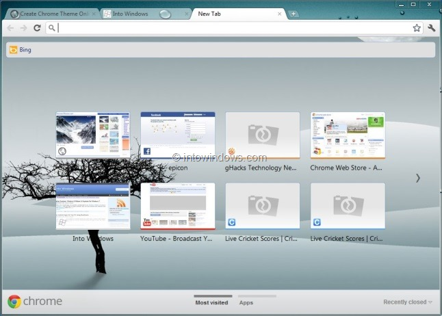 A Little Over A Year Ago We Shared A Free Utility Named Chrome Theme Creator To Create Themes For Google Chrome Browser And Today We Are Here To Share An