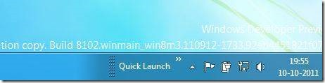 Enable Quick Launch in Windows 8 Step6