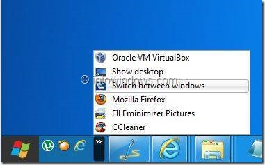 Enable Quick Launch in Windows 8