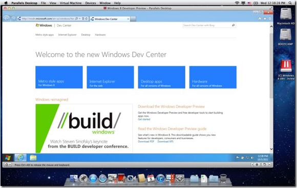 Install Windows 8 On Parallels Desktop