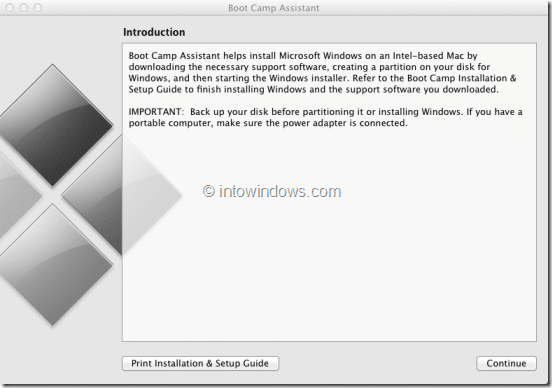 Remove Windows 8 Boot Camp Partition Step 1