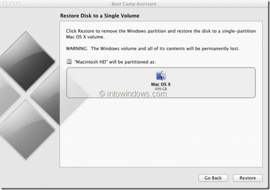 Remove Windows 8 Boot Camp Partition Step3