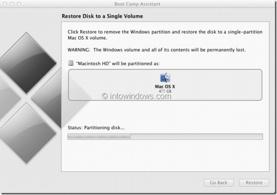 Remove Windows 8 Boot Camp Partition Step4