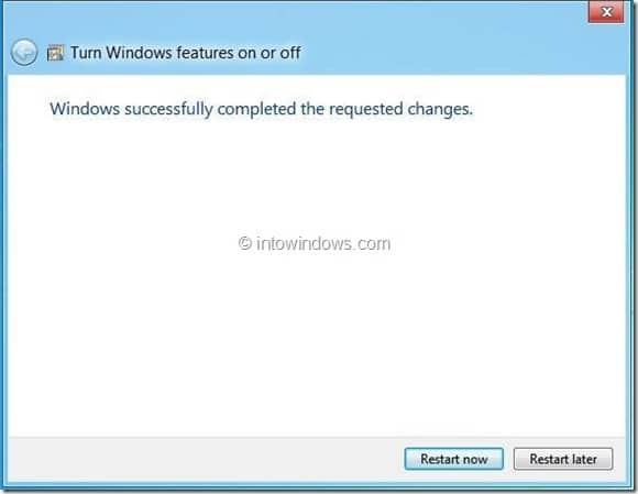 Uninstall or Remove Internet Explorer 10 From Windows 8 Step6