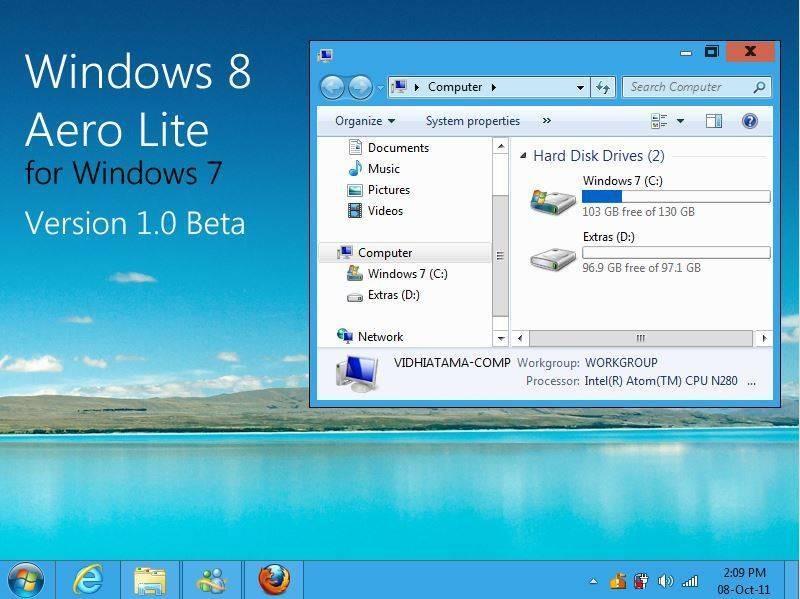 скачать аэро темы для Windows 7 бесплатно - фото 11