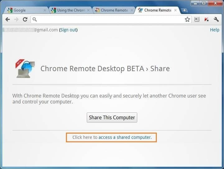 How To Use Google Chrome Remote Desktop App To Remotely Access And Share Computer pic2