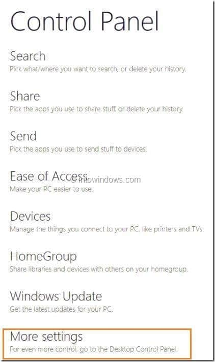 Enable or Disable Touch Screen In Windows 8 1