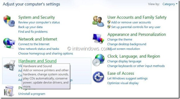Enable or Disable Touch Screen In Windows 8 Step3