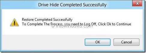 Hide Drives In Windows 8 step3