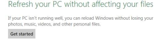 Metro Apps Not Working in Windows 8 Step5