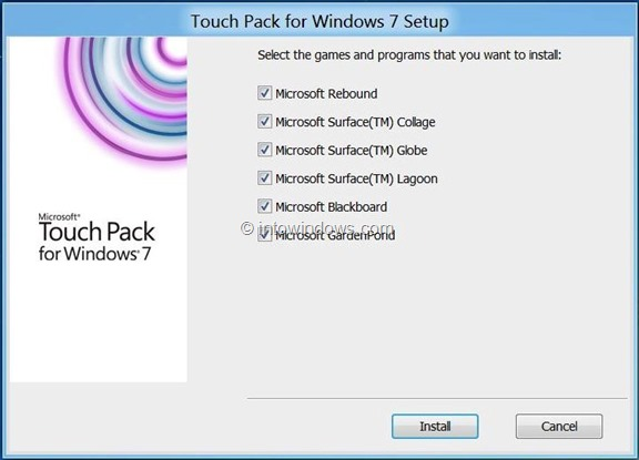 Touch Friendly Free Games for Windows 8