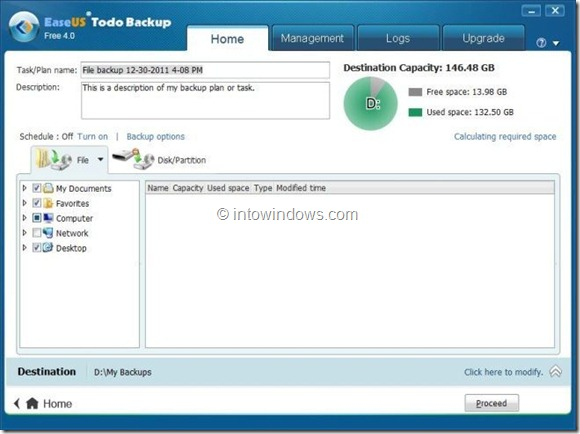 EaseUS Todo Backup Free Picture6