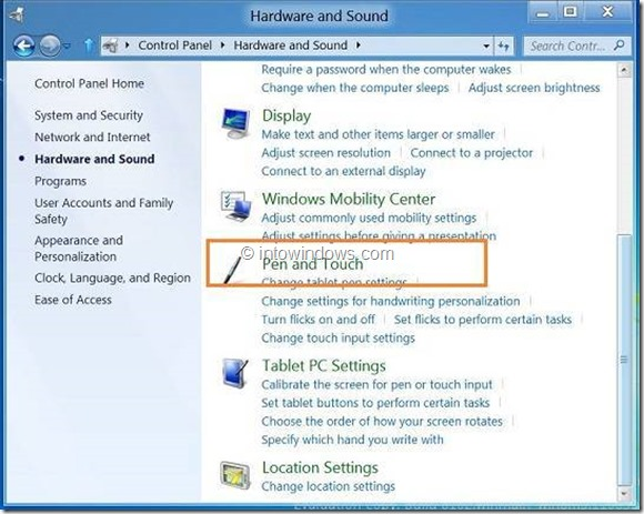 Enable or Disable Rigth Click In Windows 8