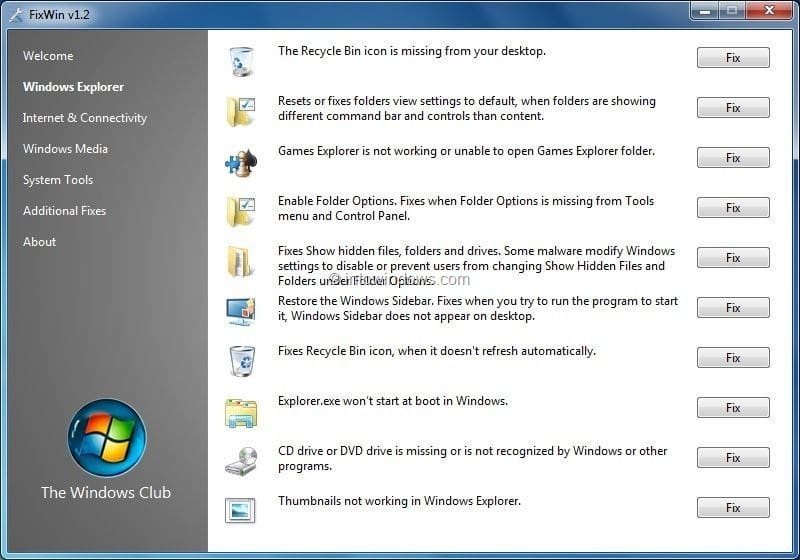 system repair software windows 7 free