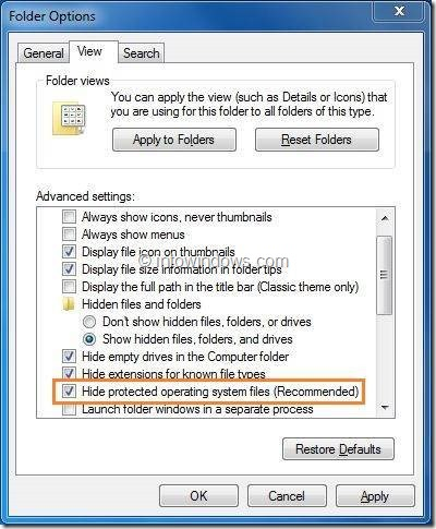 Open Hidden System Reserved Partition In Windows 7 Step1