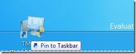 Pin Task Manager To Start Screen Step3