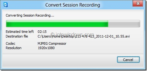 Record Session In TeamViewer Picture43JPG