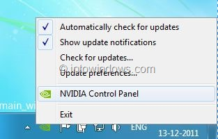 agijoz - nvidia control panel missing options windows 10