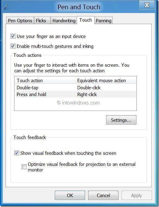Right Clic In Windows 8