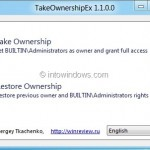 TakeOwnershipEx: Free Tool To Take Ownership Of Windows Files