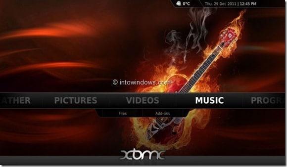 XBMC 11 Beta Picture5