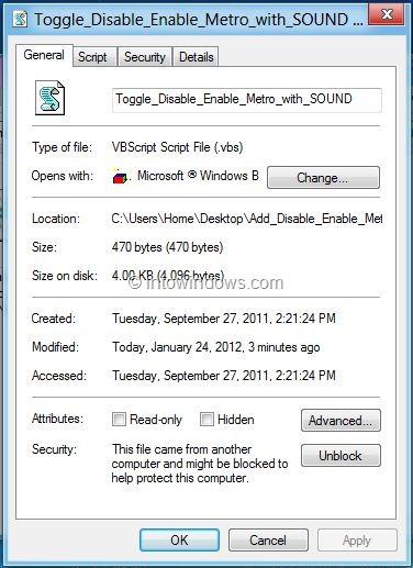 Add Disable Enable Metro To Windows 8 Desktop Context Menu Step2