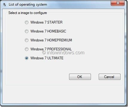Customize Windows 7 setup