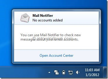 Mail Notifier Picture