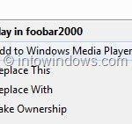 How To Remove Windows Media Player Entries From Context Menu (Without Using Third-Party Tools)