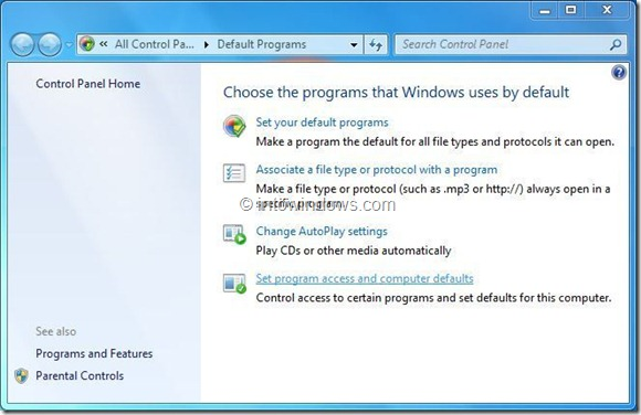 Remove Windows Media Player Entries From Context Menu Step3