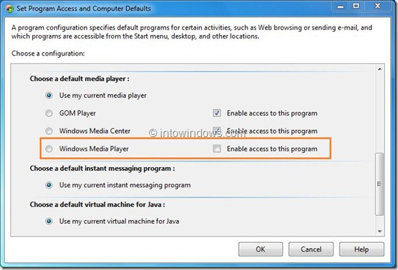 Remove Windows Media Player Entries From Context Menu Step5