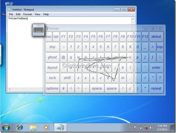 Swype Keyboard For Windows 8 Picture2