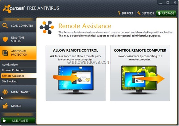 Avast Free Antivirus for Windows 8 Picture1