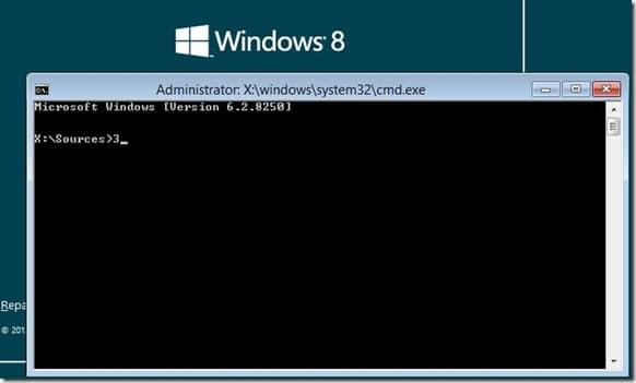 Install Windows 8 on VHD Step1