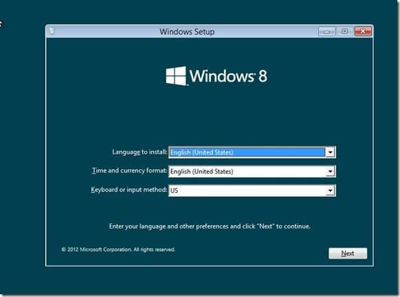 Install Windows 8 on VHD