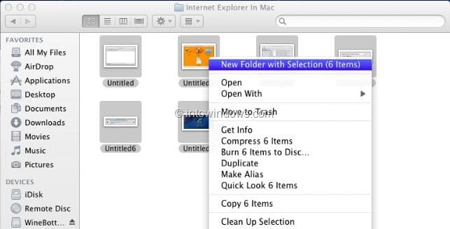mac how to create new folder