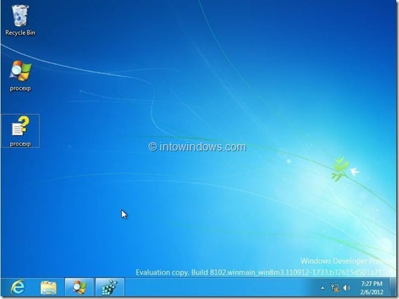 Remove Start Button From Windows 8 Developer Preview Build Step5