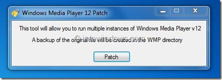 Run Multiple Instances of Windows Media Player