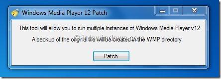 Run Multiple Instances of Windows Media Player