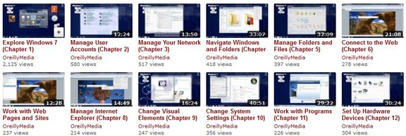 Windows 7 Video Guides